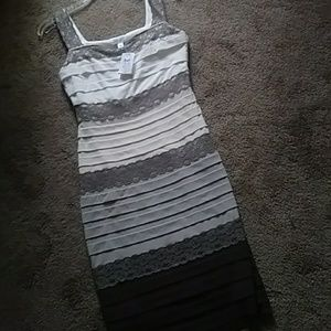 Caches bodycon with lace nwt size 4